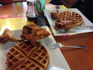 bay bay's chicken and waffles