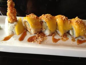 spinning ninja - mango sushi