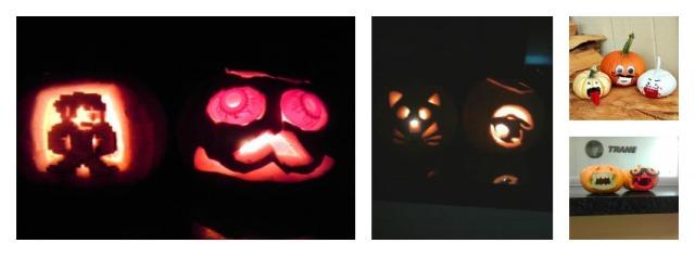 pumpkins collage 2