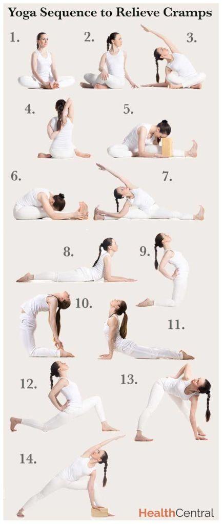 yoga cramp relief